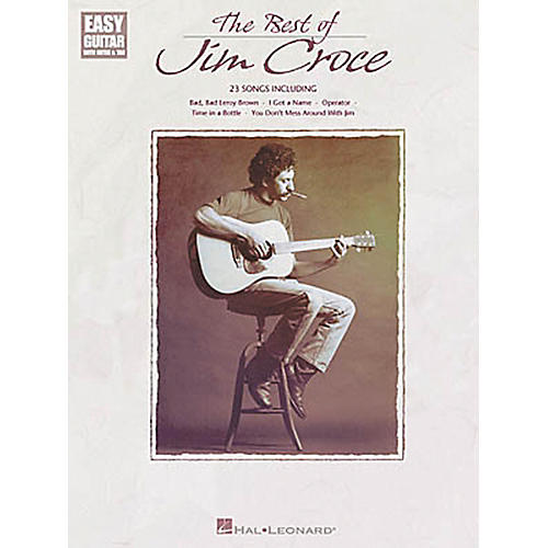 Hal Leonard The Best of Jim Croce Easy Guitar Book