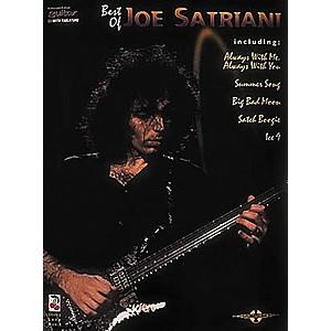 Hal Leonard The Best of Joe Satriani Guitar Tab Songbook by Hal Leonard