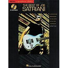 Hal Leonard The Best of Joe Satriani Signature Licks Book with CD