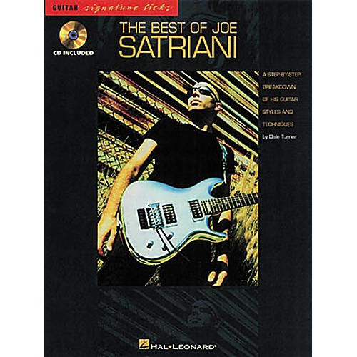 Hal Leonard The Best of Joe Satriani Signature Licks Book with CD