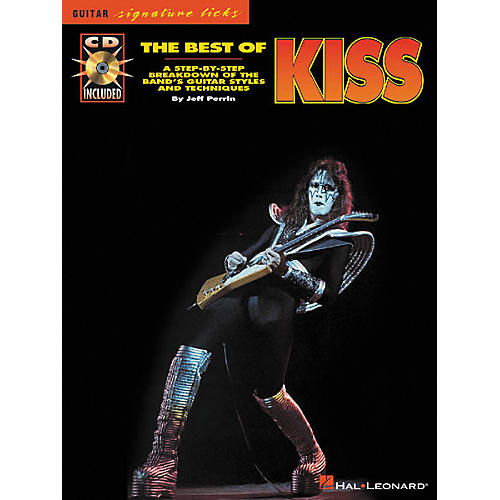 Hal Leonard The Best of KISS Guitar Signature Licks Book with CD