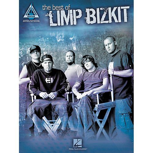 Hal Leonard The Best of Limp Bizkit Guitar Tab Book