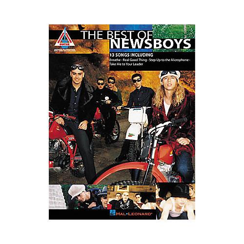 Hal Leonard The Best of Newsboys Guitar Tab Book-thumbnail