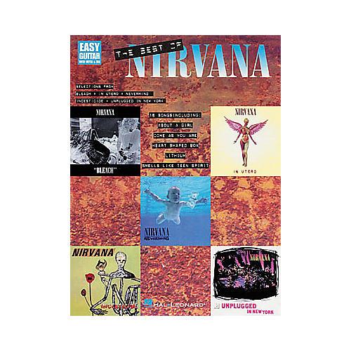 Hal Leonard The Best of Nirvana Guitar Tab Book : Guitar Center