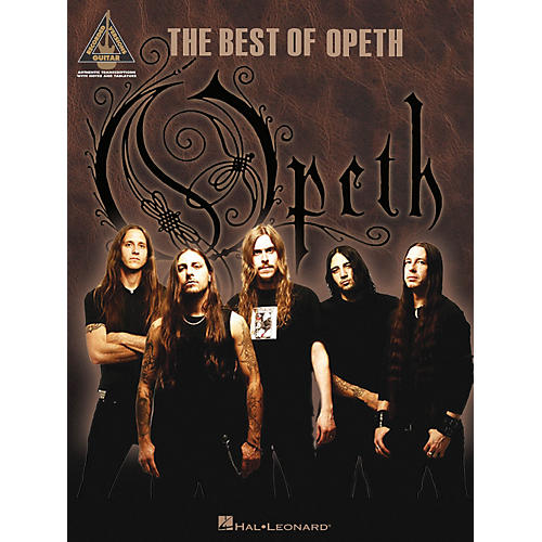 Hal Leonard The Best of Opeth Guitar Tab Songbook-thumbnail