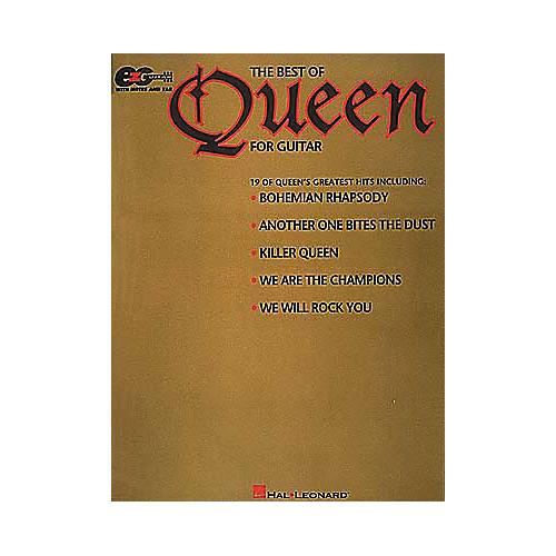 Hal Leonard The Best of Queen Easy Guitar Tab Songbook