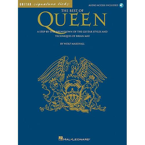 Hal Leonard The Best of Queen Guitar Tab Book-thumbnail