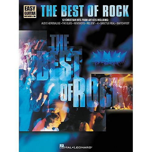 Hal Leonard The Best of Rock Easy Guitar Book
