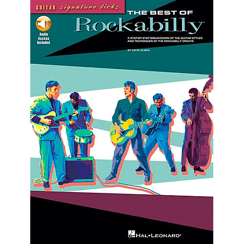 Hal Leonard The Best of Rockabilly (Book/CD)-thumbnail