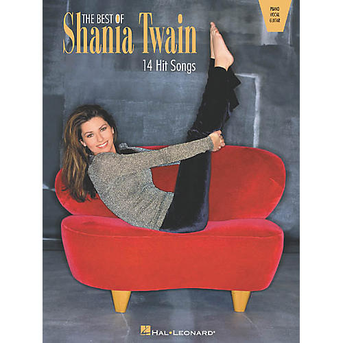 Hal Leonard The Best of Shania Twain Songbook