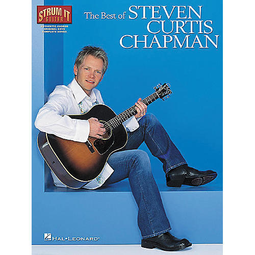 Hal Leonard The Best of Steven Curtis Chapman Guitar Tab Book-thumbnail