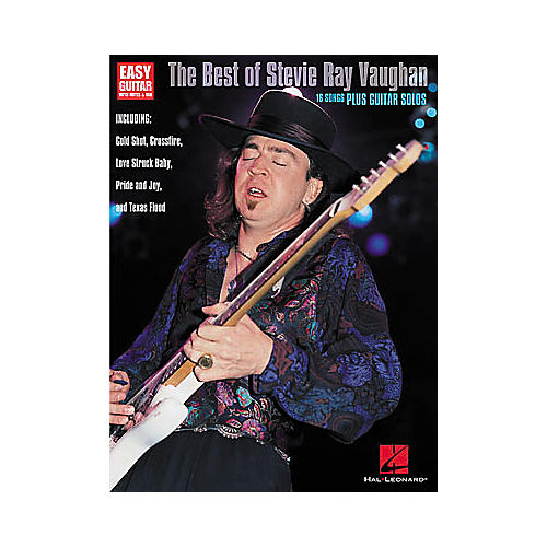 Hal Leonard The Best of Stevie Ray Vaughan Guitar Tab Book-thumbnail