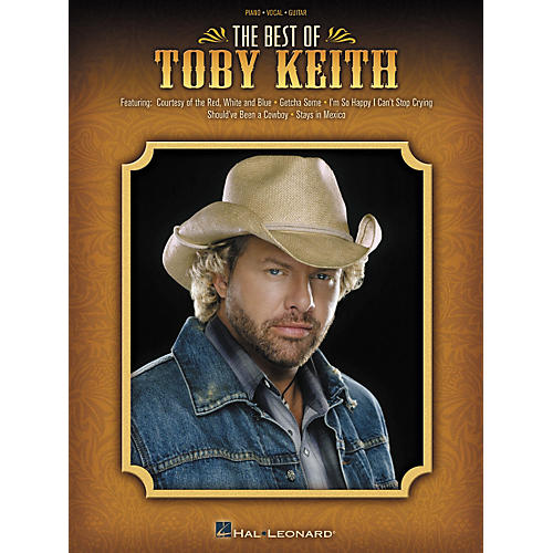 Hal Leonard The Best of Toby Keith Piano, Vocal, Guitar Songbook-thumbnail