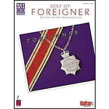 Cherry Lane The Best of foreigner Guitar Tab Songbook