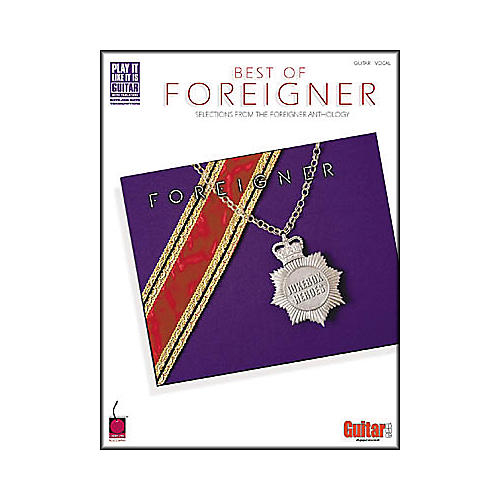 Cherry Lane The Best of foreigner Guitar Tab Songbook-thumbnail