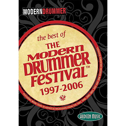 Hudson Music The Best of the Modern Drummer Festival 1997-2006 DVD Set-thumbnail