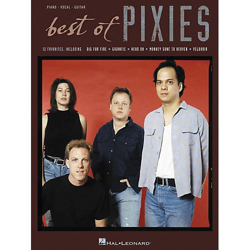 Hal Leonard The Best of the Pixies Piano, Vocal, Guitar Book-thumbnail