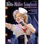 Hal Leonard The Bette Midler Songbook Original Keys for Singers