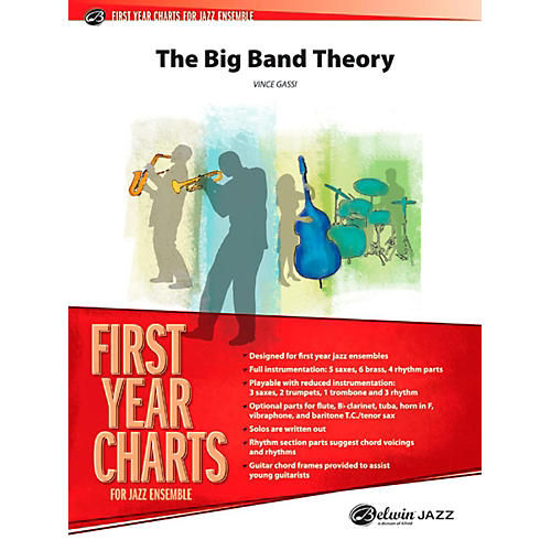 Alfred The Big Band Theory Jazz Band Grade 1-thumbnail