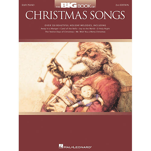 Hal Leonard The Big Book Of Christmas Songs For Easy Piano 2nd Edition-thumbnail