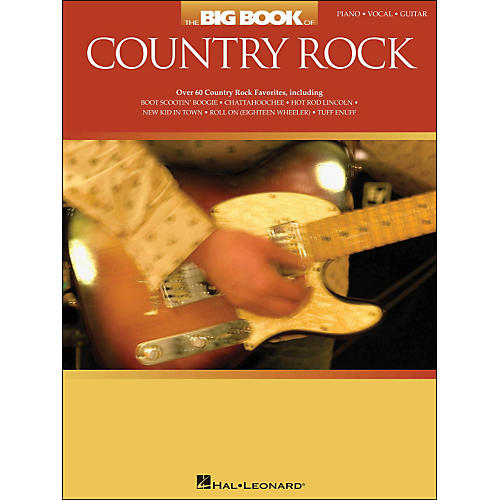 Hal Leonard The Big Book Of Country Rock arranged for piano, vocal, and guitar (P/V/G)