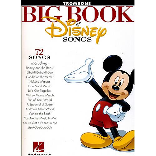 Hal Leonard The Big Book Of Disney Songs Trombone