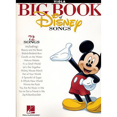 Hal Leonard The Big Book Of Disney Songs Viola