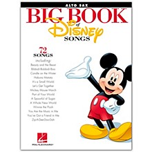 Hal Leonard The Big Book Of Disney Songs–Alto Sax