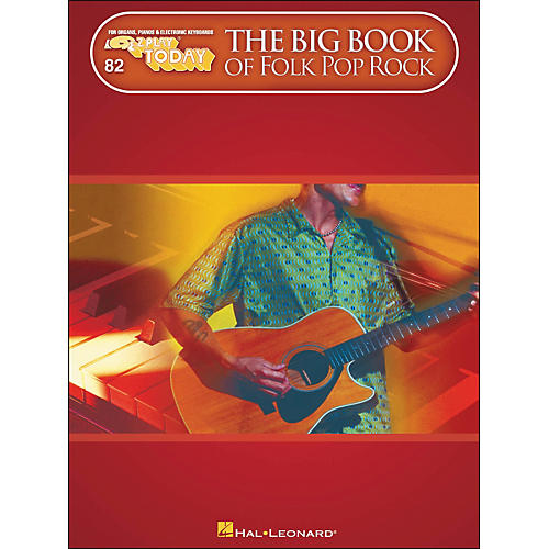Hal Leonard The Big Book Of Folk Pop Rock E-Z Play 82