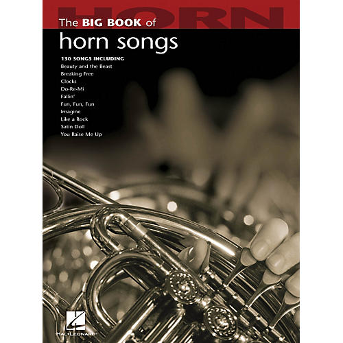 Hal Leonard The Big Book Of Horn Songs