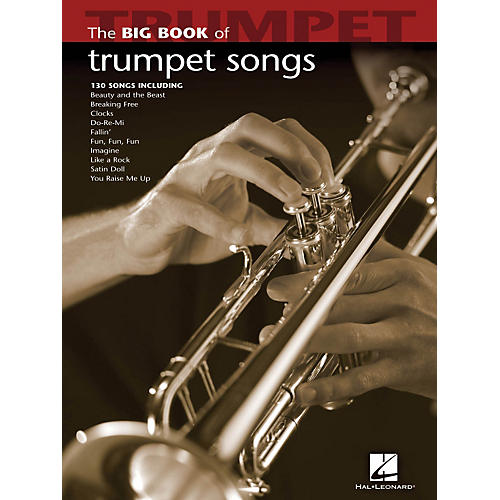 Hal Leonard The Big Book Of Trumpet Songs-thumbnail