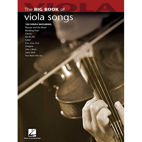 Hal Leonard The Big Book Of Viola Songs-thumbnail