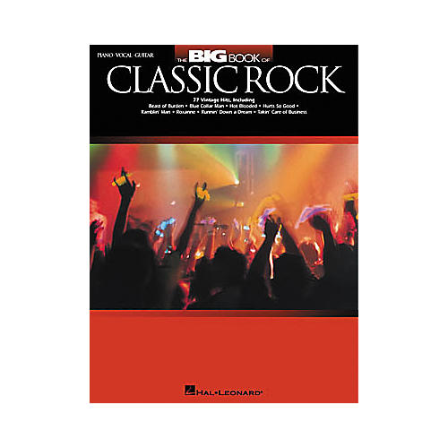 Hal Leonard The Big Book of Classic Rock Piano, Vocal, Guitar Songbook