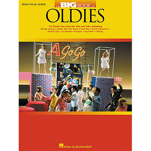 Hal Leonard The Big Book of Oldies Piano, Vocal, Guitar Songbook-thumbnail