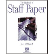 Hal Leonard The Big Book of Staff Paper Book