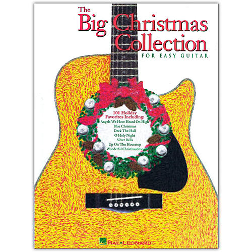 Hal Leonard The Big Christmas Collection Easy Guitar Tab Songbook-thumbnail