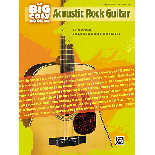 Alfred The Big Easy Book of Acoustic Guitar Tab-thumbnail