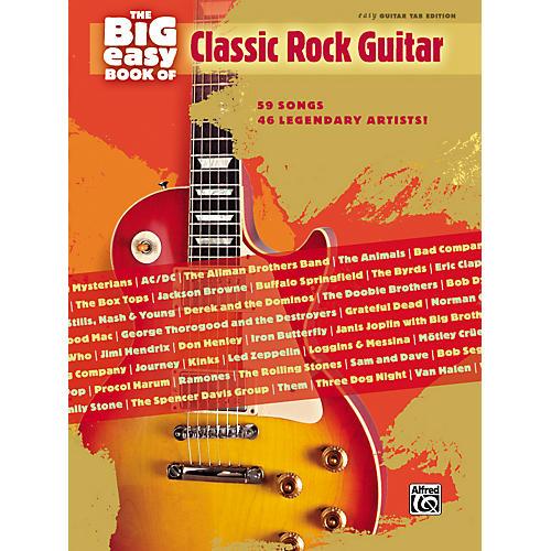 Hal Leonard The Big Easy Book of Classic Rock Guitar Tab