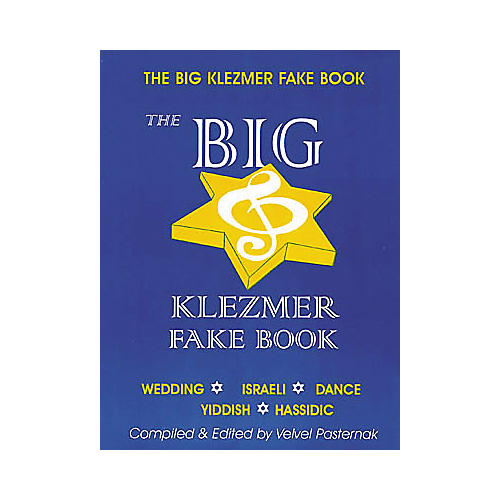 Tara Publications The Big Klezmer (Fake Book)