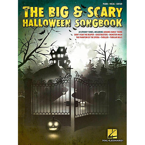 Hal Leonard The Big & Scary Halloween Songbook for Piano/Vocal/Guitar-thumbnail