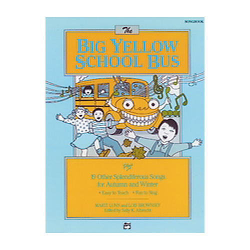 Alfred The Big Yellow School Bus Lyric/Activity Book