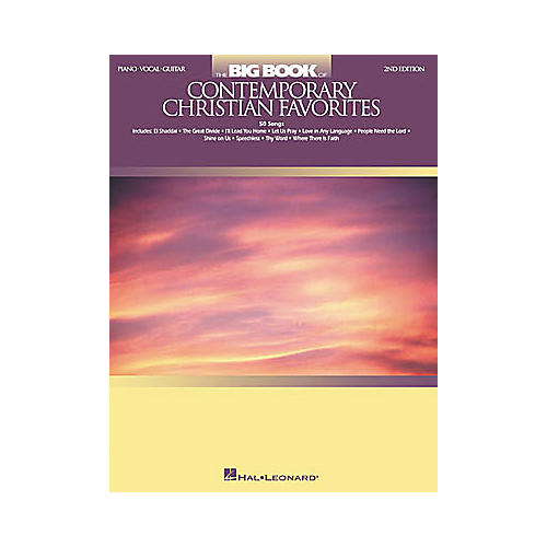 Hal Leonard The Big of Contemporary Christian Favorites 2nd Edition Piano, Vocal, Guitar Songbook