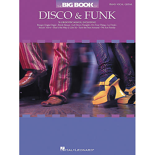 Hal Leonard The Big of Disco and Funk Piano/Vocal/Guitar Songbook