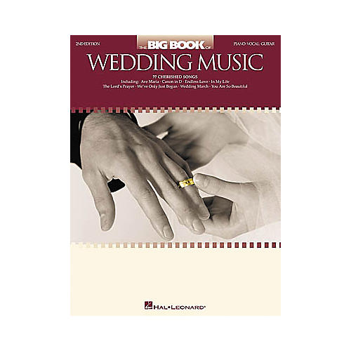 Hal Leonard The Big of Wedding Music 2nd Edition Piano/Vocal/Guitar Songbook-thumbnail