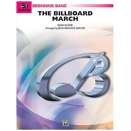 Alfred The Billboard March Concert Band Grade 1 Set-thumbnail