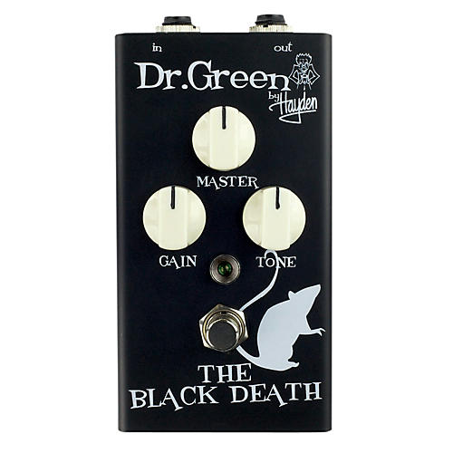 Dr. Green The Black Death Heavy Distortion Guitar Effects Pedal-thumbnail