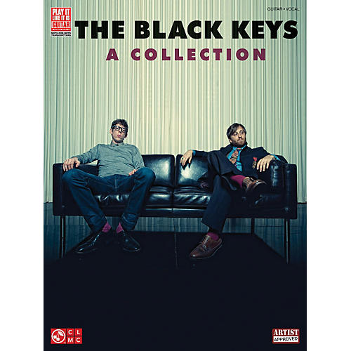 Cherry Lane The Black Keys - A Collection Guitar Tab Songbook-thumbnail