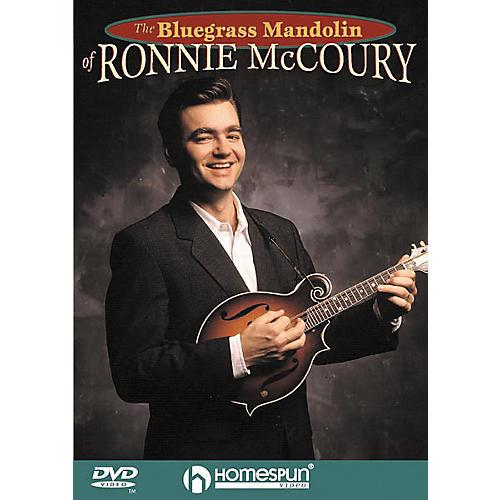 Homespun The Bluegrass Mandolin of Ronnie McCoury (DVD)-thumbnail