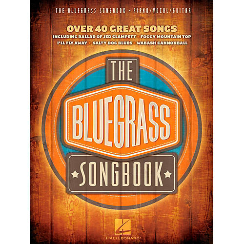 Hal Leonard The Bluegrass Songbook - Over 40 Great Songs Piano/Vocal/Guitar (PVG)-thumbnail