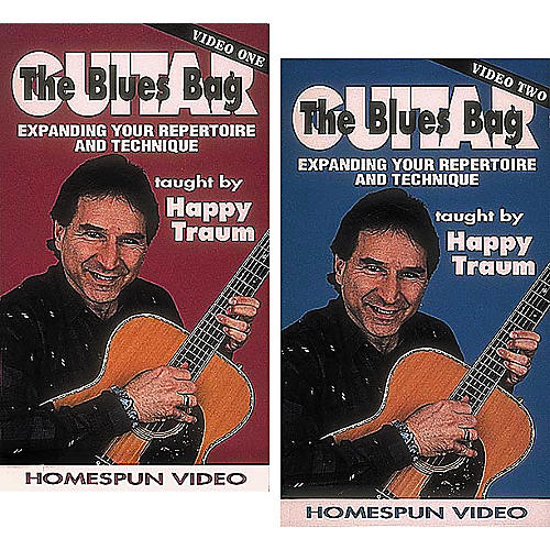 Homespun The Blues Bag 2-Video Set (VHS)-thumbnail